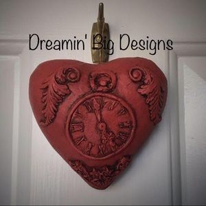 Hand Crafted Heart Ornament Decor
